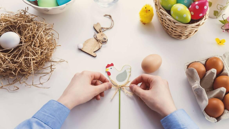 Wielkanocny Zajączek i jego pierwsze Święta