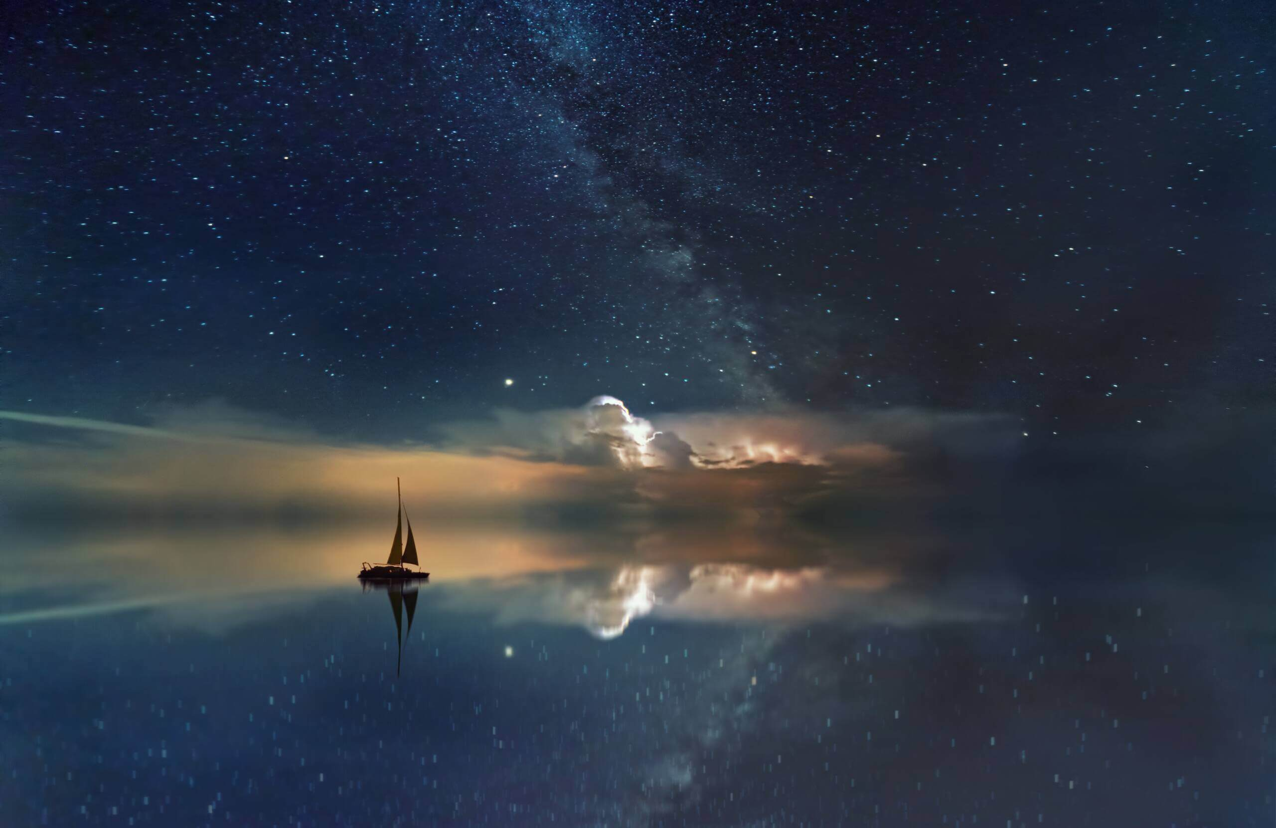 Gwiazdy na niebie