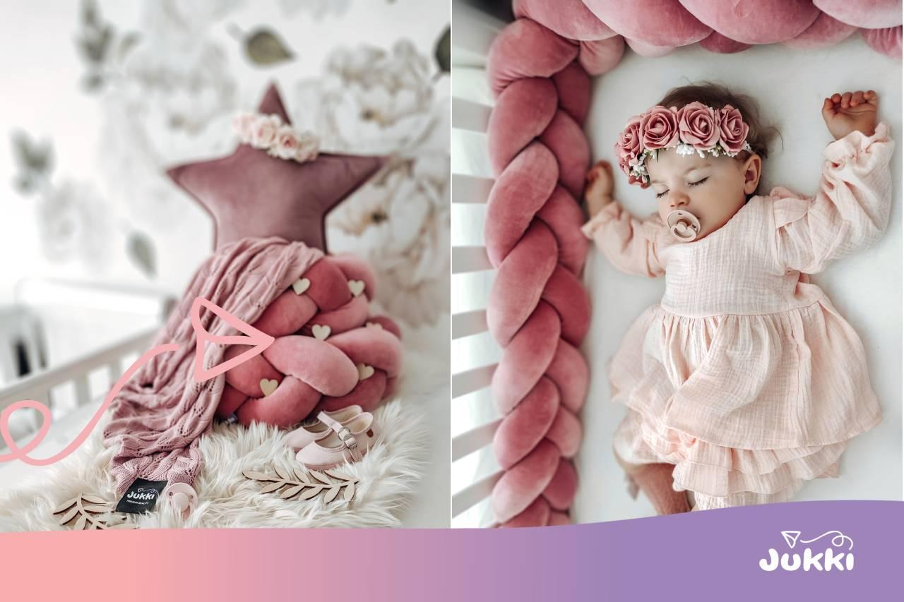 Warkocz do łóżeczka – eleganckie zabezpieczenie dla niemowląt